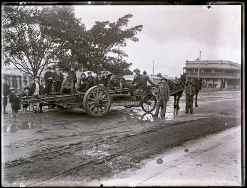 Hawkins Cart. Source: Ralph Snowball, University of Newcastle Cultural Collection